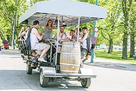 8 Reasons You Will Love Beer Bikes!
