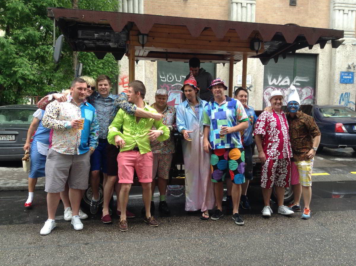 HEN AND STAG PARTIES ON WHEELS!